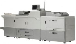 Vi benytter blant annet Ricoh Pro C7110 til å levere digitaltrykk av høy kvalitet!