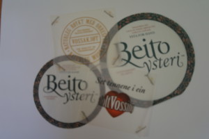 Matpapir med logo